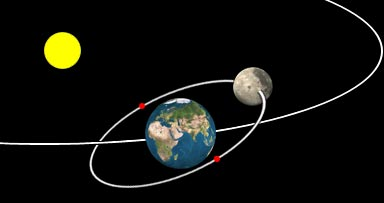 moons that orbit the earth - photo #11